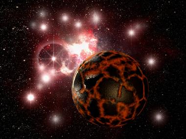 O tempo geológico diz respeito às transformações da Terra desde a sua formação