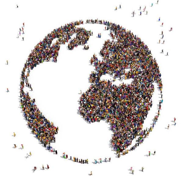 A explosão demográfica passou a ser observada a partir da década de 1950, quando países subdesenvolvidos, principalmente, passaram a apresentar cresci