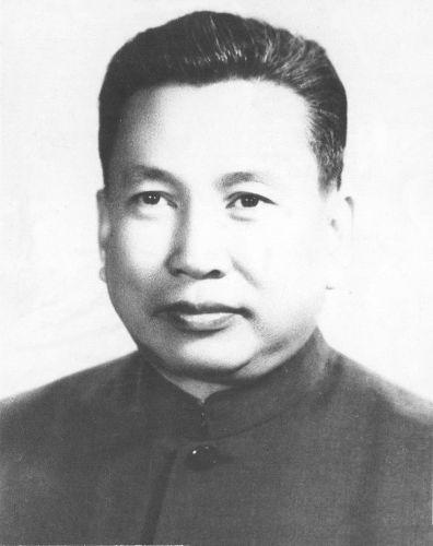 Retrato de Pol Pot, o líder do Khmer Vermelho que promoveu o genocídio cambojano entre 1975 e 1979 *