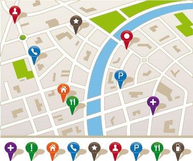 Os símbolos dos mapas são fundamentais para a compreensão do espaço representado