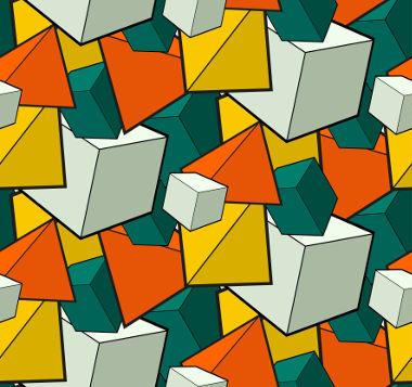 O princípio de Cavalieri é usado para demonstrar algumas fórmulas para volume de sólidos geométricos