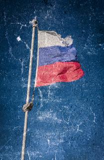 Bandeira da Federação Russa. País sofreu uma grave crise financeira em 1998