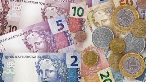 O atual design da moeda brasileira conta com notas de tamanhos e cores diferentes