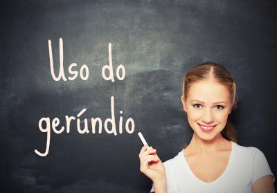O gerúndio é uma forma nominal que indica uma ação em andamento, não finalizada no momento da fala