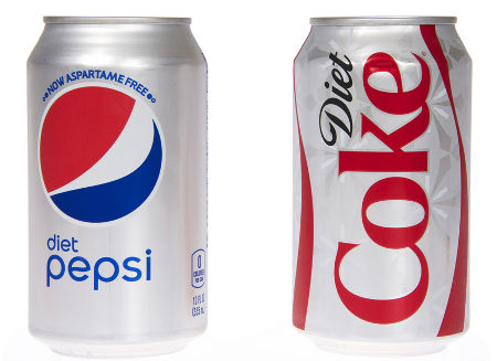 Exemplos de produtos que possuem sucralose em sua composição*