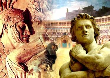 Revoltas, conquistas e espetáculos: uma nova face da sociedade romana durante a República.
