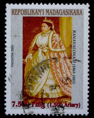 Ranavalona II foi rainha de Madagáscar de 1868 a 1883 e procurou garantir a soberania do país durante seu reinado*