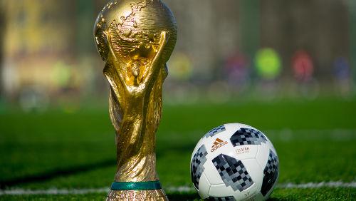 Taça da Copa do Mundo é uma mistura de diferentes metais e sais*