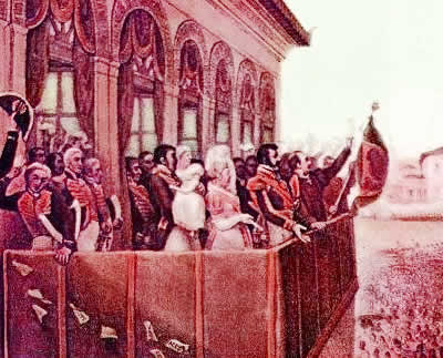 As ações políticas que antecederam a proclamação da nossa independência.