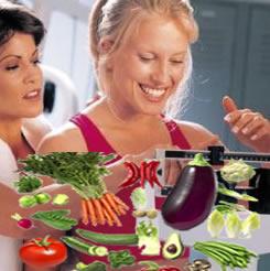 O nutricionista indica a alimentação saudável para a redução do peso