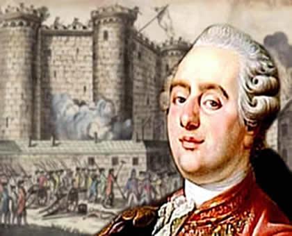 Luis XVI: o rei que vivenciou algumas das tensões que antecederam a Revolução Francesa.