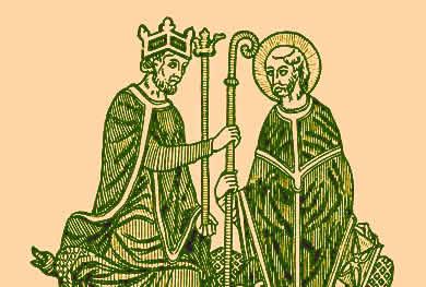 A Querela das Investiduras: disputas entre o poder monárquico e clerical.