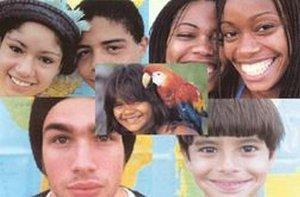 Diferentes composições étnicas no Brasil.