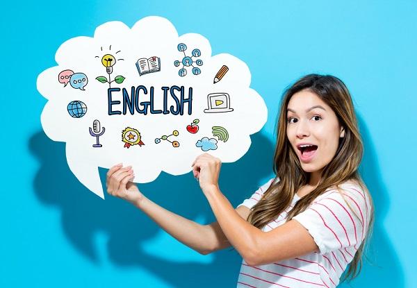 Fale inglês estudando em casa!