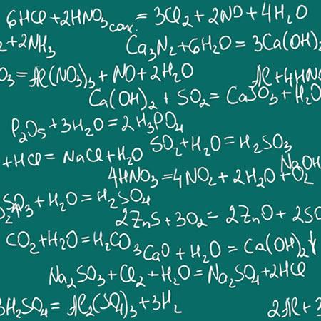 É preciso realizar o balanceamento de equações químicas para que elas correspondam às condições experimentais