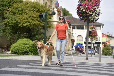 A pessoa cega pode realizar suas atividades desde que seja estimulada