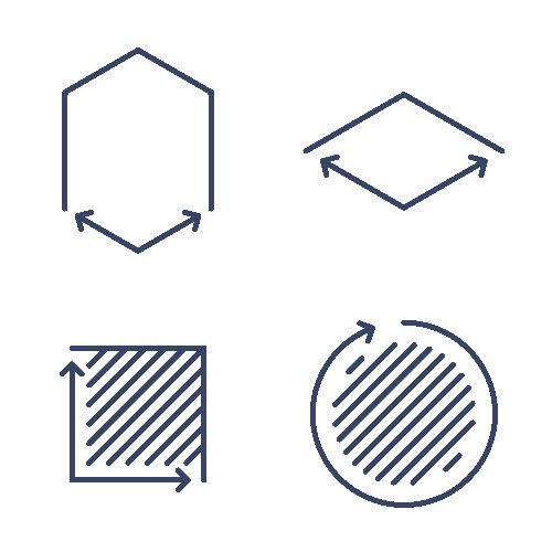 O perímetro é a medida do contorno de figuras geométricas planas
