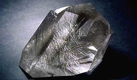 Pedra de Rutilo: mineral que imita diamante.