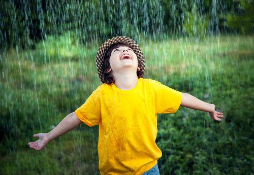 Toda chuva possui materiais poluentes
