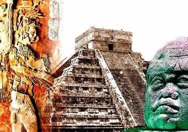 Os povos pré-colombianos impressionam pela riqueza de suas culturas.