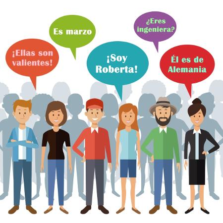 O verbo ser é usado em diferentes situações comunicativas
