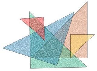 Identificando dois triângulos semelhantes