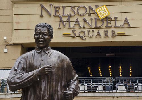 Nelson Mandela foi membro do Congresso Nacional Africano, órgão de resistência ao Apartheid *