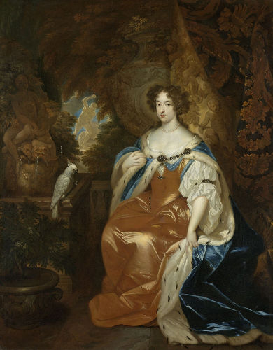 Com a Revolução Gloriosa, Maria Stuart, filha de Jaime II, foi coroada rainha da Inglaterra.