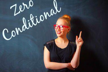 """Quando supomos algo que temos certeza de seu desfecho, usamos o """"Zero Conditional"""" para expressá-lo"""
