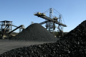 Jazida de carvão.