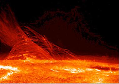 A energia liberada pelo Sol, que aquece a Terra, resulta de reações termonucleares de fusão