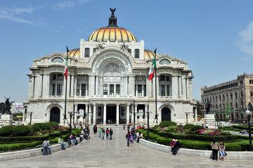 Museu de Belas Artes do México, na Cidade do México