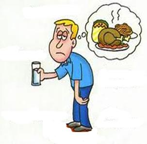 Um dos sintomas da hiperglicemia é o aumento da fome