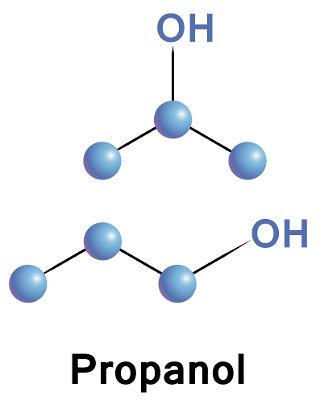 Dois compostos de mesma fórmula molecular e estruturas diferentes são isômeros
