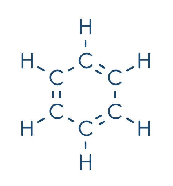 O benzeno é um hidrocarboneto de fórmula C6H6 com vasta aplicação na área da Química Orgânica.