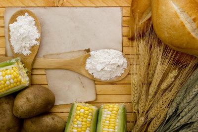 O amido é encontrado em alimentos de origem vegetal