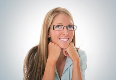 As lentes usadas nos óculos ajudam na correção dos problemas de visão
