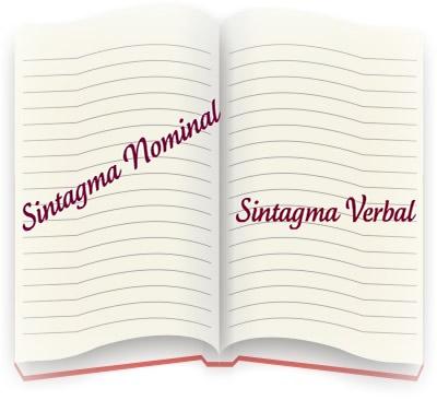 O sintagma nominal tem como núcleo um nome ou um pronome; e o sintagma verbal tem como núcleo um verbo
