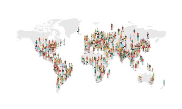 Entender os conceitos de populoso e povoado auxilia na compreensão da dinâmica populacional de diversos países.