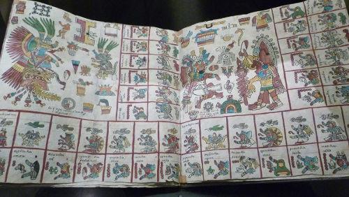 Códice Borbônico era um manuscrito feito por sacerdotes astecas em pictogramas