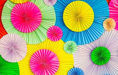 Exemplos de círculos coloridos