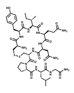A ocitocina é um exemplo de peptídeo
