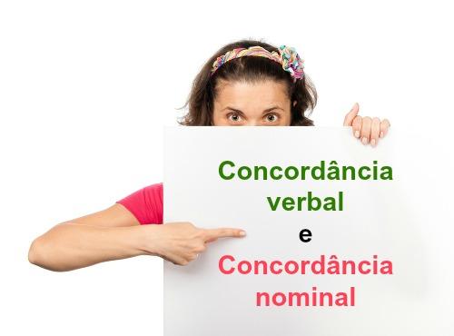 A concordância é uma relação de determinação ou dependência morfossintática e pode ocorrer com relação ao nome ou ao verbo