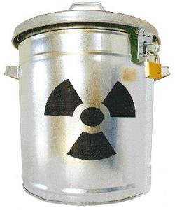 Lixo nuclear: manter isolado