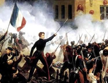 O levante de 1830 determinou a ruína dos ideais conservadores do Congresso de Viena.