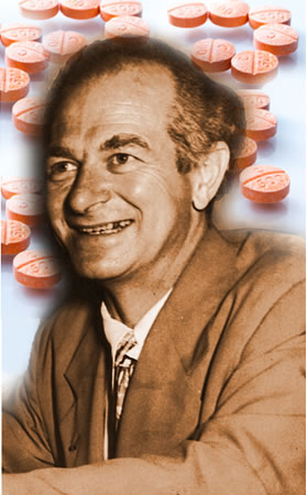 Linus Pauling ingeria altas doses de vitamina C