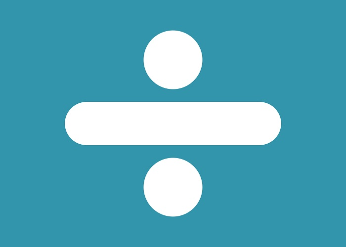 A divisão é uma das quatro operações básicas da Matemática