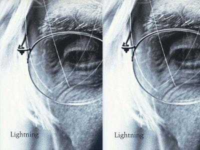 Capa do livro Lightning. Edição em inglês do livro Relâmpagos, de Ferreira Gullar. Editora Cosac & Naify