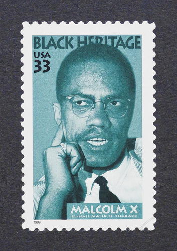 Malcolm X foi um dos grandes nomes na luta dos afro-americanos por mais direitos nos Estados Unidos*