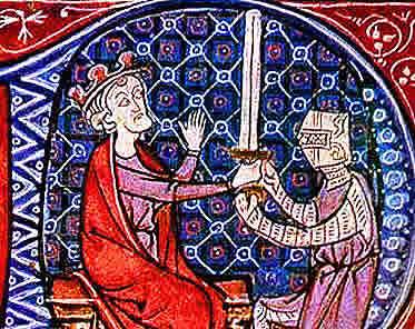 Os cavaleiros compunham uma importante parcela da ordem nobiliárquica feudal.
